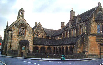 Public housing in the United Kingdom - The Almshouse at Sherborne, Dorset