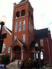 Downtown Fayetteville, First Baptist Church