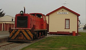 The Plains Vintage Railway & Historical Museum - Image: Drewry Dsa 218 of 1953