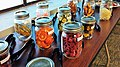 Dried fruits and vegetables ready for sampling.jpg
