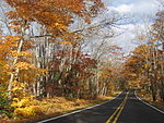 Road to Copper Harbor, Michigan
