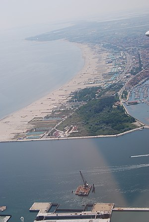 Sottomarina - Aerial view