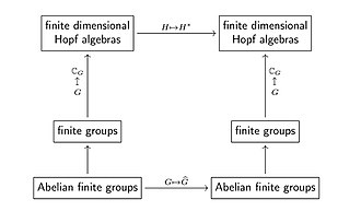 Pontryagin duality - Duality for finite groups.