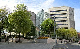 Dublin City Council - The Civic Offices, Wood Quay Executive and administrative offices.
