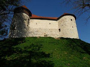 Dubovac Castle - Image: Dubovac Castle in Karlovac 3, Croatia