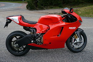 Ducati Single At Speed
