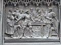 Duke of Buccleuch Statue Pedestal detail 02.JPG