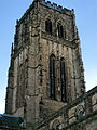 Durham Cathedral on an October evening.JPG