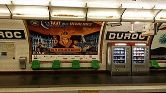 Duroc (Paris Métro) - Image: Duroc metro
