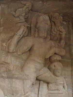 Dvarapala - Image: Dvarapala Elephanta 2007