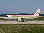 EC-IZH Airbus A320-214 A320 - IBE (18827276276).jpg