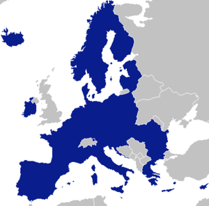 Federalisation of the European Union - Image: EEA single entity