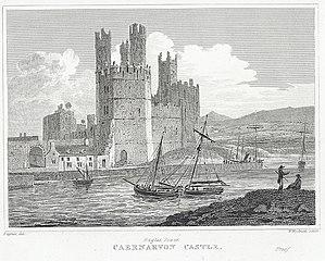 Eagles Tower, Caernarvon Castle
