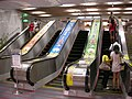 East Metro Mall escalator between Exit 8 and Exit 6 20080813.jpg