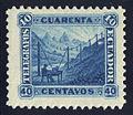 Ecuador telegraph stamp 40c.jpg