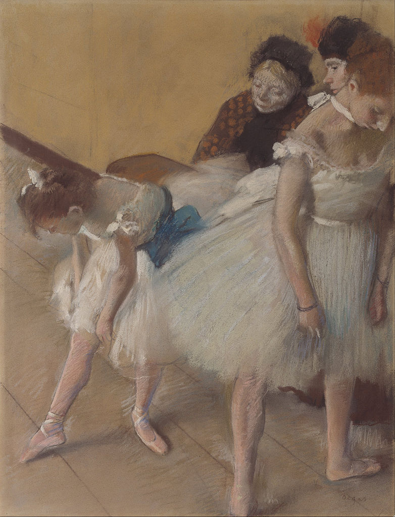 Edgar Degas - Examen de Danse (Dance Examination) - Google Art Project