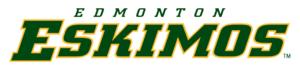 Edmonton Eskimos - Edmonton Eskimos Wordmark