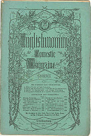 title page of The Englishwoman's Domestic Magazine, September 1861
