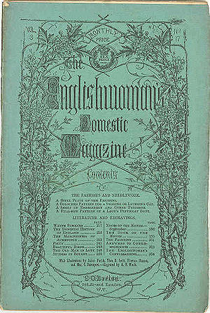 The Englishwoman's Domestic Magazine - The Englishwoman's Domestic Magazine, title page, September 1861