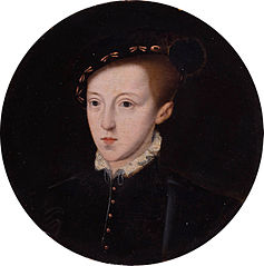 Portrait of Edward VI (1537-1553), King of England