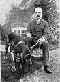 Edwin Brough with his bloodhound.jpg