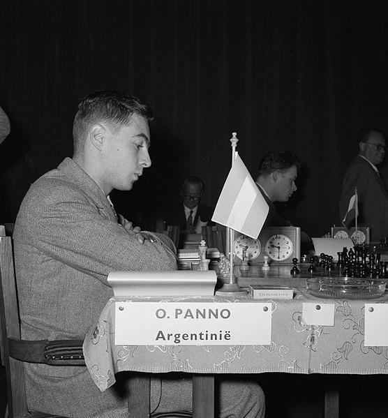 File:Eerste ronde landentoernooiwereldkampioenschap Schaken. Aan bord Panno, Bestanddeelnr 907-6626.jpg