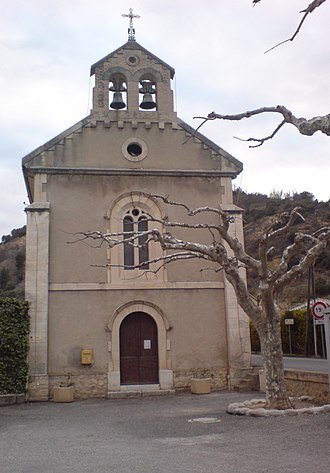 Bras-d'Asse - The church of Saint-Nicolas, in Bras-d'Asse