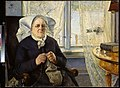 """Eilif Peterssen - Portrait of """"Mor Utne"""" - NG.M.00358 - National Museum of Art, Architecture and Design.jpg"""