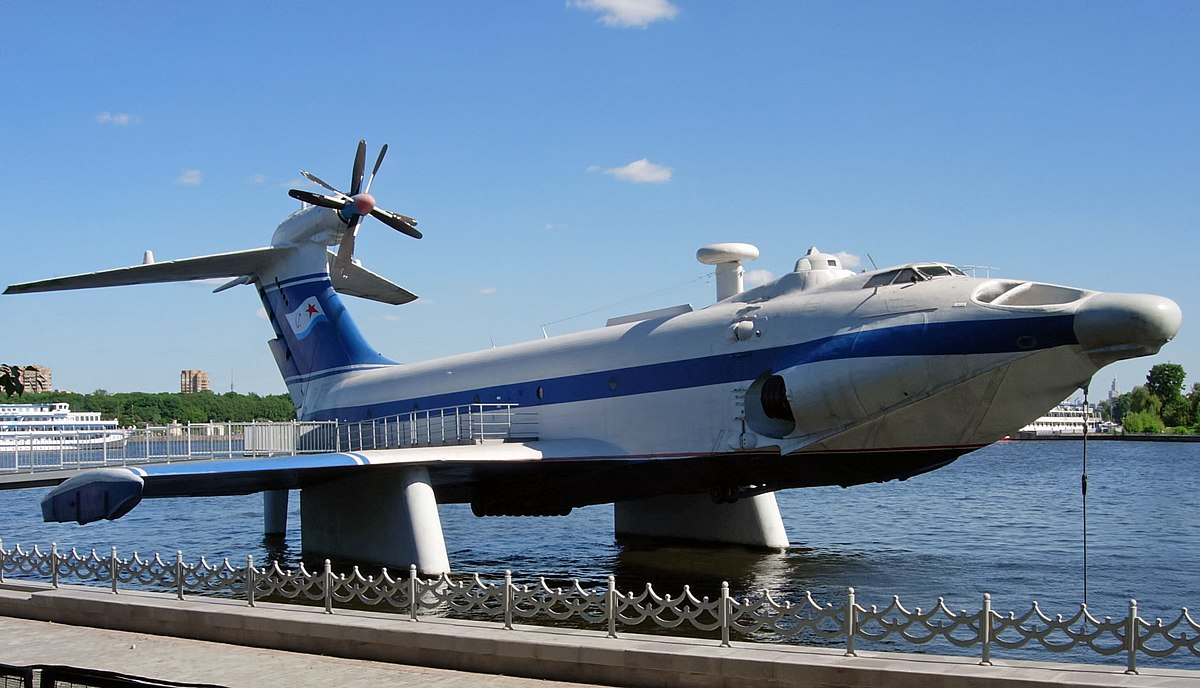 A ground-effect vehicle (GEV), also called a wing-in-ground-effect (WIG), ground-effect craft, wingship, flarecraft or ekranoplan (Russian: экран