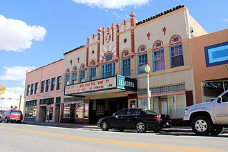 National Register of Historic Places listings in McKinley County, New Mexico - Image: El Morro Theater in Gallup