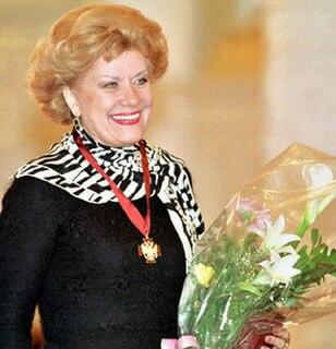Elena Obraztsova Soviet and russian opera singer