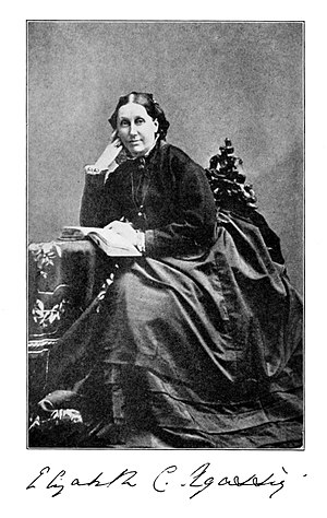 Elizabeth Cabot Agassiz - Image: Elizabeth Cary Agassiz portrait