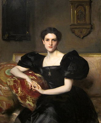 Edgewater (Barrytown, New York) - Elizabeth Chapman (portrayed by John Singer Sargent) bought Edgewater in 1902.