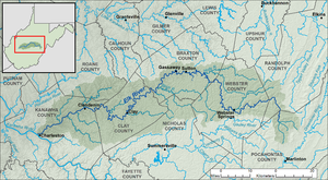 Elk River WV map.png