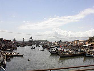Elmina - Elmina fishing fleet