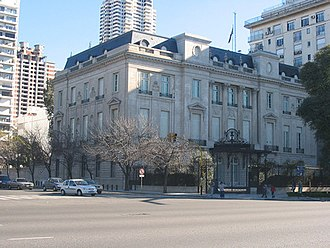 Argentina–United States relations - US Ambassador Residence in Buenos Aires