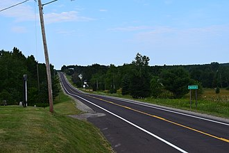 M-38 (Michigan highway) - M-38 in Nisula