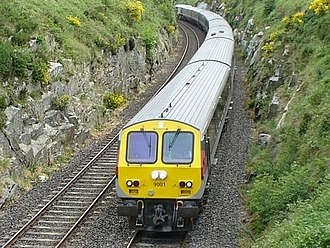 County Armagh - Image: Enterprise train