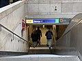 Entrée Station Métro George V Paris 2.jpg
