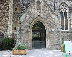 Garden Museum - Image: Entrance Garden Museum