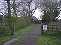 Entrance to the camp site - geograph.org.uk - 758383.jpg