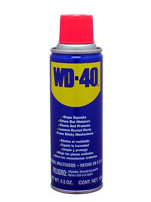 Español: Envase de lubricante WD-40 de 155g.