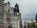 Equestrian statue of Charles I, looking down Whitehall.jpg