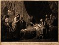 Erasistratus, a physician, realising that Antiochus's (son o Wellcome V0016259.jpg