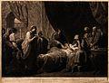 Erasistratus, a physician, realising that Antiochus's (son o Wellcome V0016259.jpg