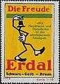 Erdal - Die Freude, Reklamemarke 1914.jpg