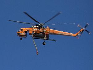 Helitack - S-64 Skycrane