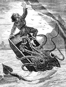 Erik Garner Warren, circa 1707, Meets the Giant Squid for the first time.jpg