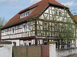 Half-timbered house, Hauptstrasse 9 (2015)