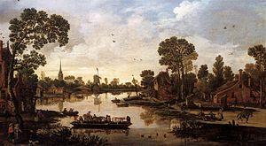 1622 in art - Image: Esaias van de Velde Ferry Boat WGA24497